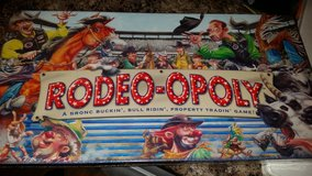 NEW Rodeo Opoly (Monopoly style game for Rodeo lovers!) in Aurora, Illinois