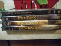 Lord of the Rings + The Hobbit DVD SET in Travis AFB, California