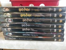 Harry Potter DVD Collection in Travis AFB, California