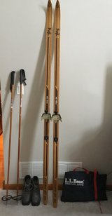 Cross Country Skis and Boots in Aurora, Illinois