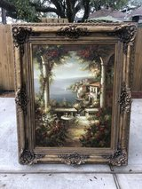 Beautiful large framed painting in The Woodlands, Texas