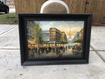 Beautiful framed painting. in The Woodlands, Texas