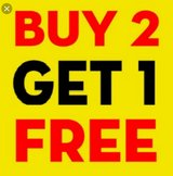 buy 2 get 1 free in Clarksville, Tennessee
