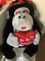 Large Valentine's Day Monkey in Columbus, Georgia