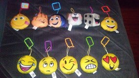 Emoji plush lot in The Woodlands, Texas