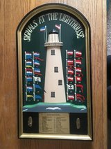 SIGNALS AT THE LIGHT HOUSE 3 dimension wall hanging picture plaque in Clarksville, Tennessee