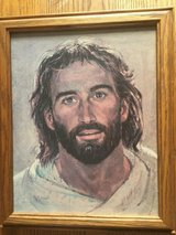 Jesus Painting Printed on canvas in Wood Frame in Clarksville, Tennessee