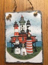 Lighthouse painting on tablet in Clarksville, Tennessee