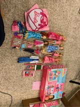 barbies, ken,brave princess and Barbie house in Oswego, Illinois