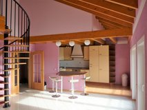 fantastic, modern apartment, house with geothermal heat, huge double garage in Spangdahlem, Germany