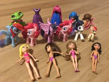 Polly dolls and Pony in Ramstein, Germany
