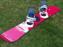 Burton Snowboard with softboot-bindings (as well Burton) 147 cm condition = ok in Ramstein, Germany