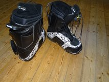 snowboard-boots German size 44, US 11 1/2, good quality, fast fixing!! in Ramstein, Germany