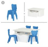 Activity Table and 4 chairs in Travis AFB, California