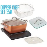 Copper Chef Set in 29 Palms, California