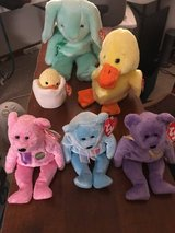 Ty beanie baby Easter collection in Sugar Grove, Illinois