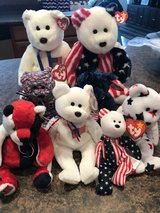 Ty beanie baby Independence Day collection in Sugar Grove, Illinois