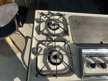 Camping Stove uses Propane Gas 4 Burners and a griddle in Kissimmee, Florida