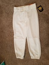 Wilson Brand New boys size medium youth baseball pants in Morris, Illinois