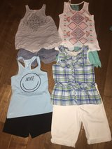 Girl's Sz 10-12 Tops & Shorts Lot in Spring, Texas