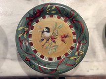 4 Lenox Chickadee Dinner Plates in Conroe, Texas