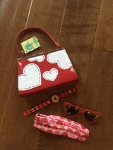 Valentine's Day Purse & Heart Sunglasses Lot in Spring, Texas