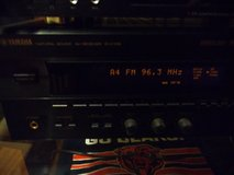 Yamaha stereo receiver in St. Charles, Illinois