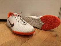 Nike Indoor Soccer Shoes - Size 5.5 Youth in Oswego, Illinois