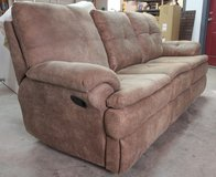 Double recliner loveseat with console in Alamogordo, New Mexico