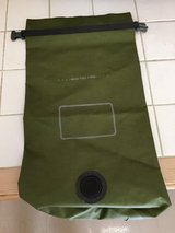 USMC CIF Issued Small Green Water Proof Mac Sack Bag in Temecula, California