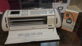 Cricut expression comes with plug and font cartridge in Oswego, Illinois