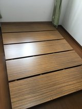 Full size platform bed in Okinawa, Japan