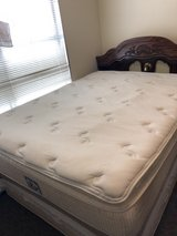 Queen Mattress with pillow top in Okinawa, Japan