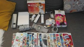 Wii with games in Ramstein, Germany