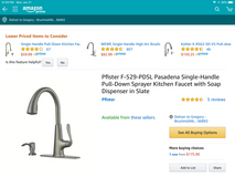 Brand New Kitchen Faucet in Ramstein, Germany
