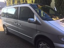 2000 Mercedes Benz VITO Van, Diesel, Manual, 6 passenger, snroof in Ramstein, Germany