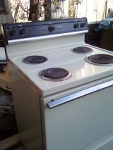 GE electric stove in Houston, Texas