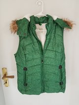 New - Never Been Worn, Warm Fluffy Vest With Hoody Size: M in Ramstein, Germany
