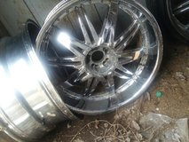 25 Inch 4 Rims Beautiful in Fort Campbell, Kentucky