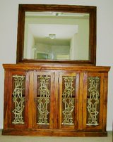 ROSEWOOD SIDEBOARD WITH MIRROR in Spring, Texas
