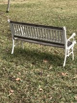 outdoor bench in Spring, Texas