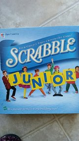 Scrabble Junior game in Sugar Grove, Illinois