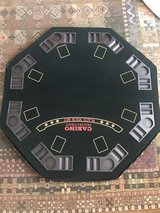 tabletop game table, card table topper, poker night in Joliet, Illinois