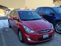 2012 Hyundai accent, one owner,  garage kept in Yorkville, Illinois