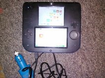 Nitendo 2ds with car charger in Leesville, Louisiana