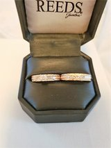 ArtCarved Yellow Gold Engagement Ring and Wedding Band in Camp Lejeune, North Carolina