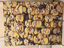 Minion canvas picture in Lakenheath, UK