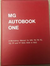 MG Autobook One Workshop Manual for MG,TA,TB,TC,TD,TF,TF1500 in Fort Campbell, Kentucky