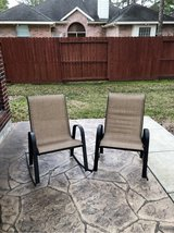 patio rocking chairs in Houston, Texas