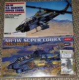 1/35 SCALE AH-1W SUPER COBRA HELICOPTERS in Camp Lejeune, North Carolina